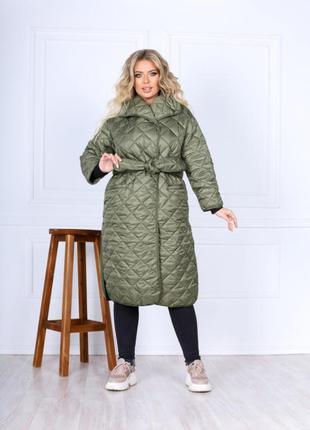 Женская удлинённая куртка