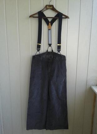 Вельветовые брюки брэнда margaret howell, оригинал