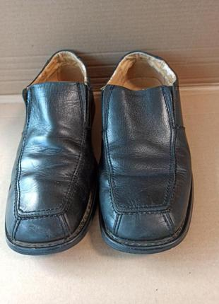 Туфли мужские 45 р-р кожа, б/у, nxxt