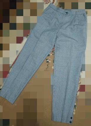 Брюки штаны винтаж классика гусиная лапка
