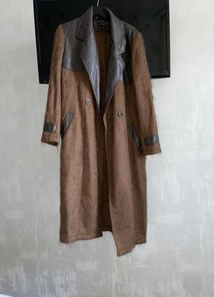 Пальто dsquared2 мохер