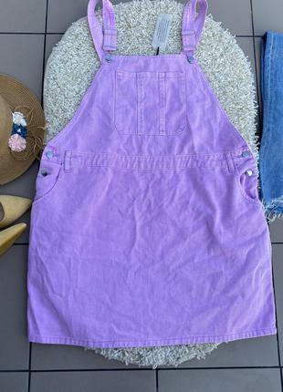 Комбинезон комбез ромпер джинсовый юбка джинсовая