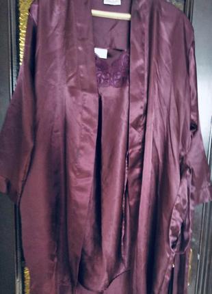 Халат + ночная рубашка набор