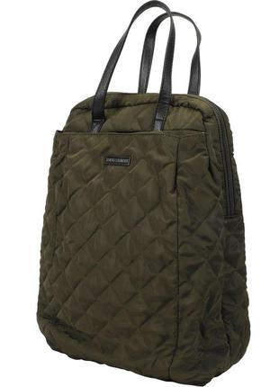 Стильный стеганный рюкзак, рюкзак -сумка цвета хаки tokyo laundry