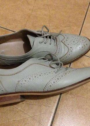 Оксфорды- туфли asos кожа