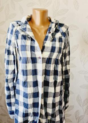 Женская кофта пиджак женский жакет курточка женская рубашка в клетку