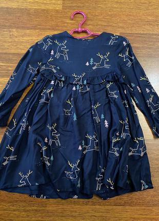 Красивое платье на 3-4 года