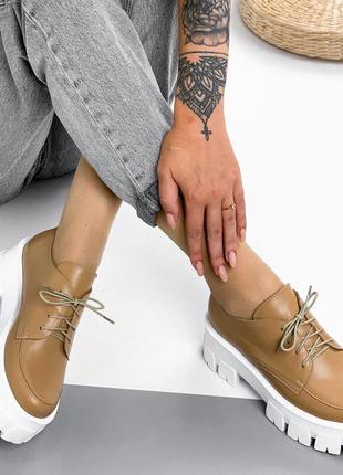Распродажа 36 р. 23,5 см кожаные туфли