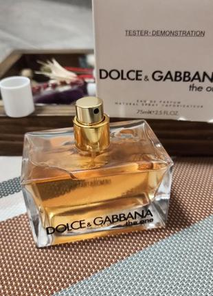 👑парфюмерная вода dolce&gabbana the one edp 75ml.
