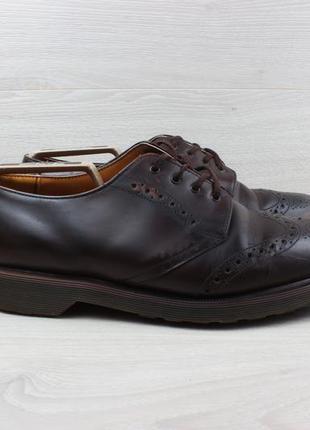 Мужские кожаные туфли броги dr. martens england оригинал, размер 43