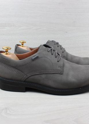 Мужские замшевые туфли clarks gore-tex оригинал, размер 42