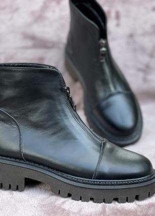 Ботинки кожа натуральная,осень - байка,зима -мех, 36-41р