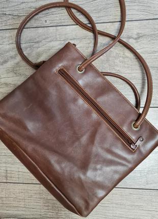 Шкіряна сумка_шопер rosetti