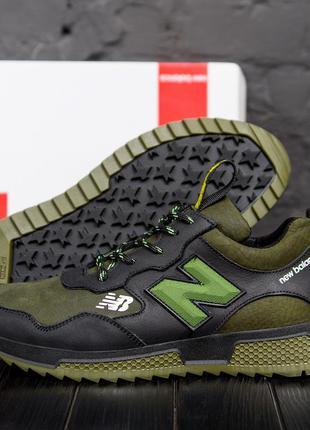 Мужские кроссовки из натуральной кожи new balance(40-45р)