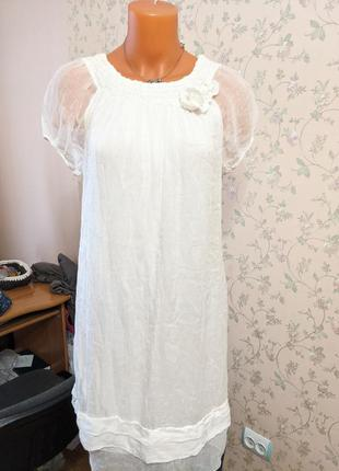 Платье италия шелк