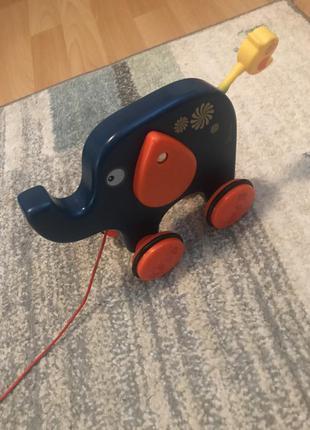 Игрушка - каталка слон