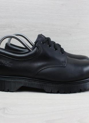Мужские кожаные туфли / полуботинки dr. martens royal mail англия, размер 41