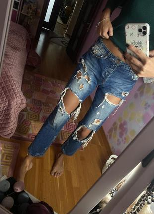 Джинсы mom , джинсы bershka , джинси, штани, штаны
