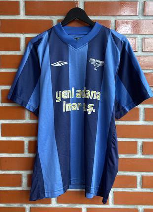 Umbro adana demirsport мужская футболка футбольная форма размер l б у