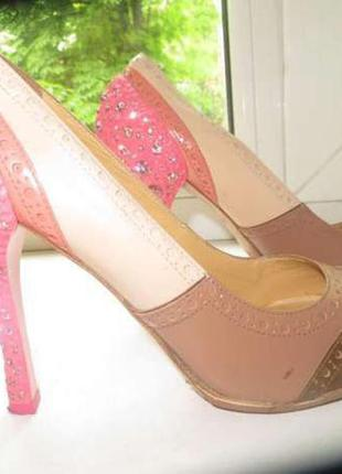 Продам шикарные туфли miu miu (prada) оригинал 1 линия