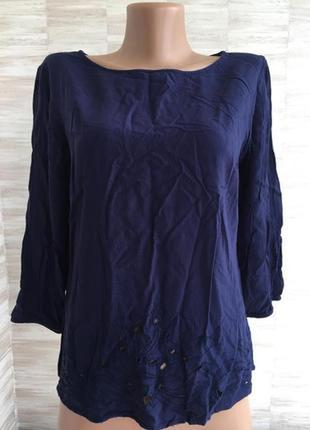 Футболка блузка с вышивкой f&f