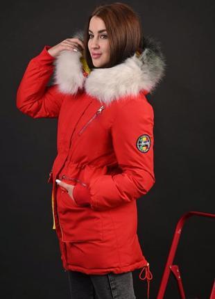 Жіноча зимова куртка парка,р.m,l,xl,xxl