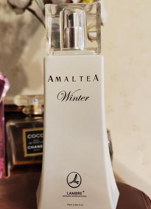 Lambre amaltea winter, духи lambre, парфюмированная вода lambre