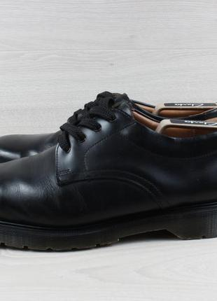Кожаные мужские туфли / полуботинки solovair, размер 45