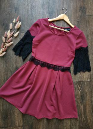 Праздничное платье, нарядное платье с кружевом