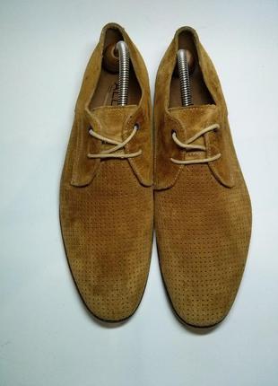 Мужские замшевые туфли aldo оригинал, размер 43