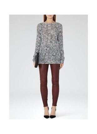 Легкий удлиненный свитер reiss
