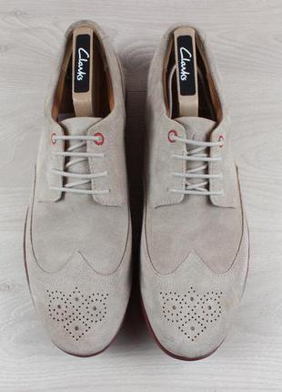 Мужские замшевые туфли rockport, размер 44 (adiprene by adidas)