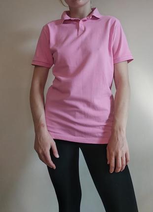 Поло розовое