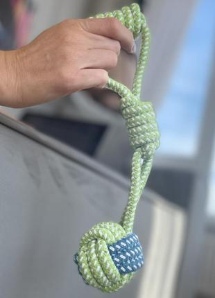 Плетена іграшка канат для собак