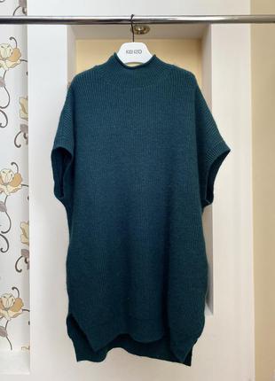 Платье туника шерстяное пончо накидка оверсайз  свитер тёплое vero moda ❤️