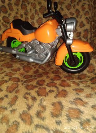 Мотоцикл,новый 30 см.