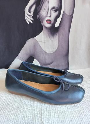 Clarks оригинальные кожаные туфли 39