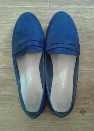 Синие туфли, балетки