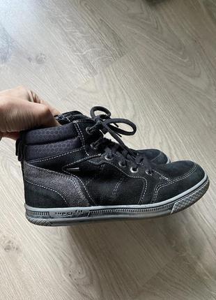 Демисезонные ботинки кеды superfit