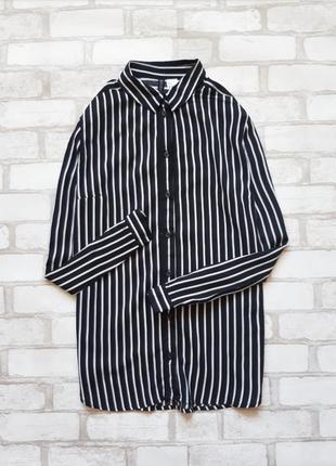 Сорочка в полосочку h&m