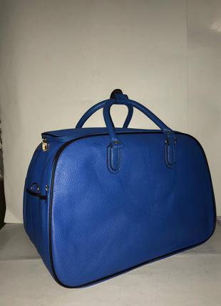 🔥супер цена! стильная дорожная сумка саквояж из эко кожи без предоплат! дорожня сумка