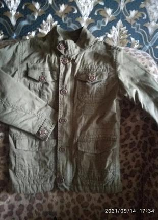 Детская куртка,ветровка,пиджак.некст 110см