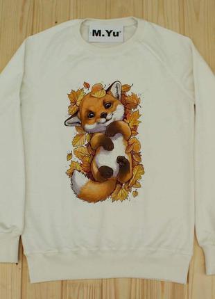 Світшот лисичка