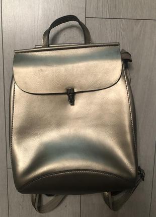 Кожаный рюкзак, кожаная сумка