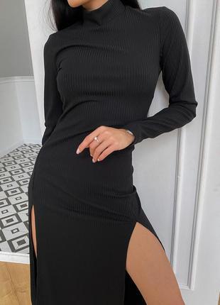 Платье рената черный jadone fashion