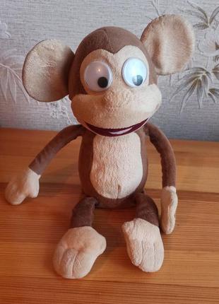 Интерактивная анимированная пукающая обезьяна мавпа fufris