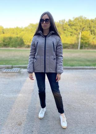 Демисезонная осенняя куртка от производителя по скидке! распродажа!