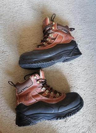 Ботинки термо зима кожа, водостойкие sfс pro, tinsulate
