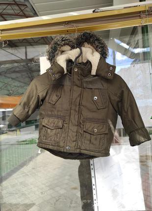 Куртка осенняя парка