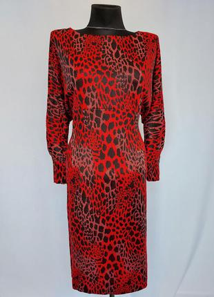 Суперцена. стильное платье, принт. турция. новое, р-ры 42-46